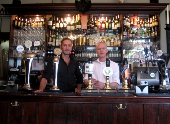 The co-landlords of the Carpenters Arms
