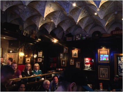 The Back Room Bar Ceiling