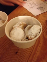 Deep Fried Oreos, available from When Mac Met Cheese
