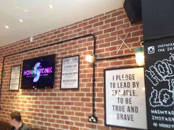 TV Screens at Honky Tonk