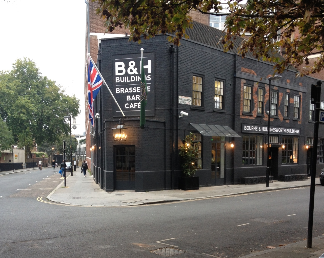 The Bourne and Hollingsworth Exterior