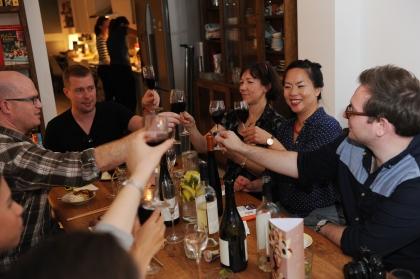 Meeting New People at Uyen Luu's Supperclub