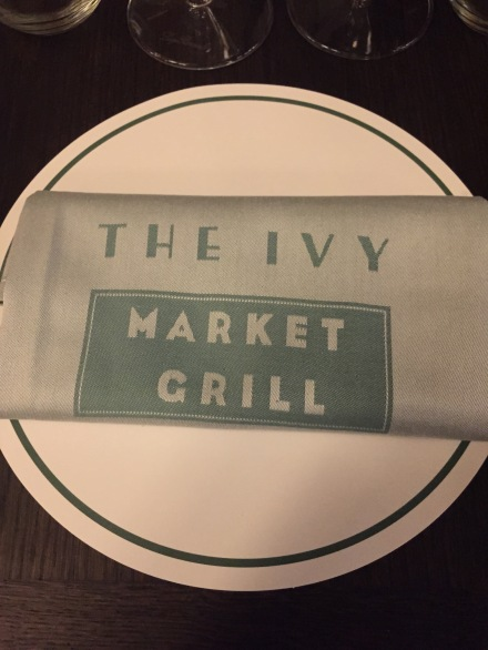 Napkins at the Ivy Market Grill