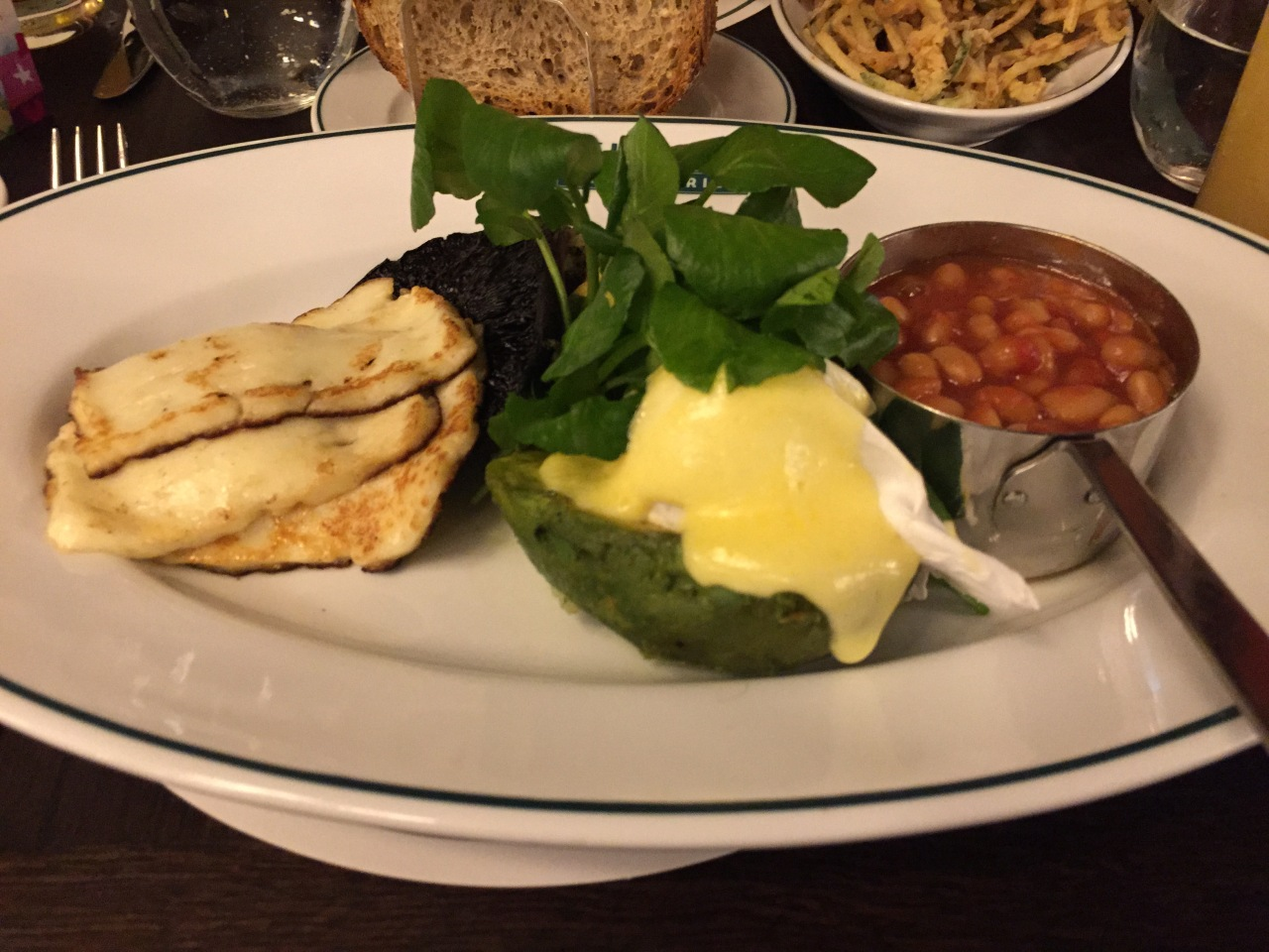Vegetarian Full English - The Ivy Market Grill