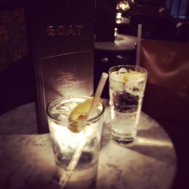 Gin n Tonics at Goat