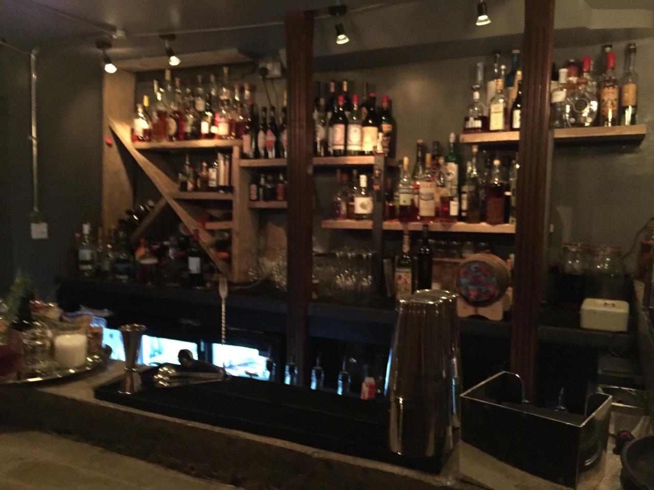 The Bar Underneath Milroy's
