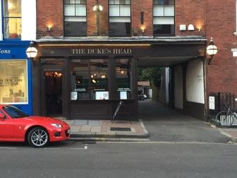 The Duke's Head Pub in Highgate