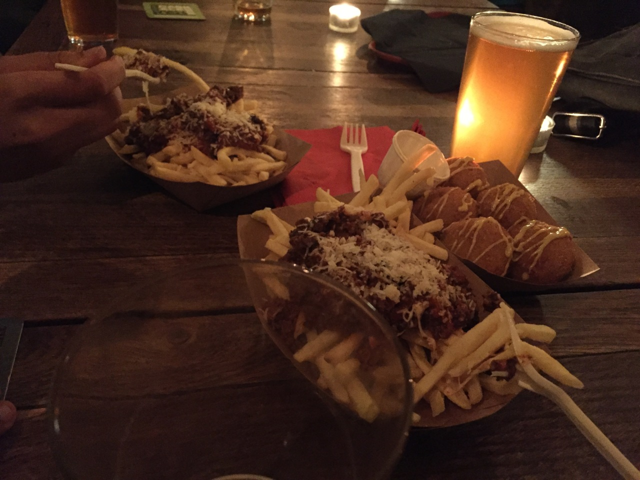 Fries and Meatballs from Meat Heads
