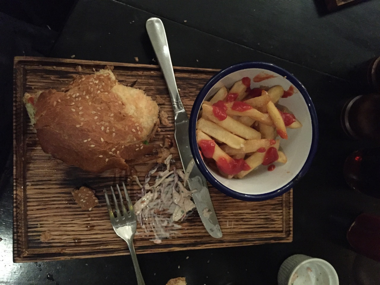 Vegetarian Burger from The Dead Doll's Club in Islington